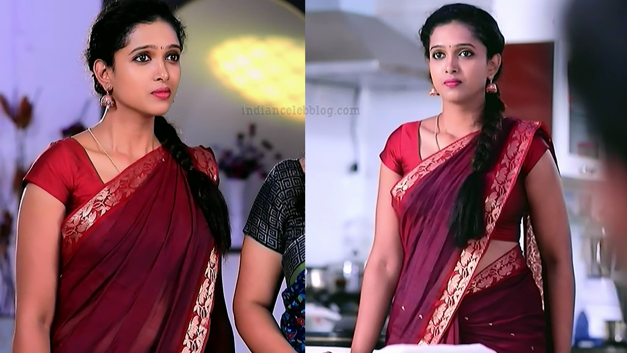 Apoorva bharadwaj kannada tv actress S2 3 saree photo