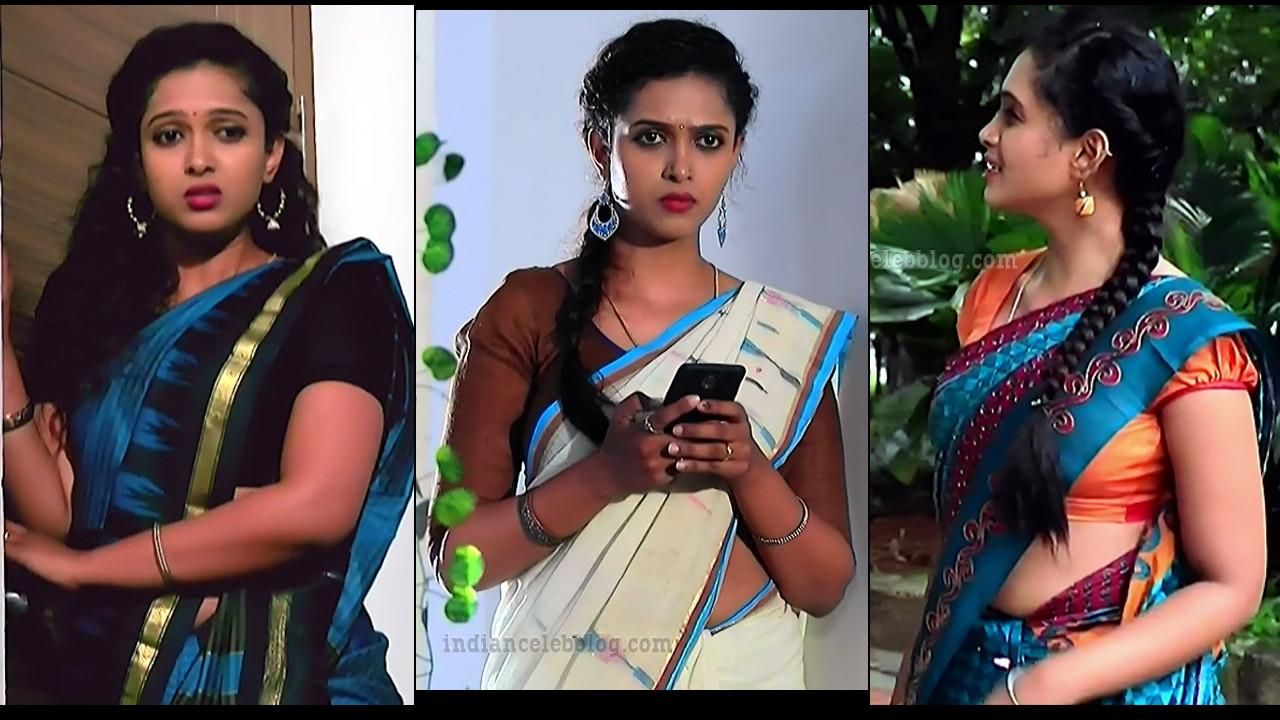 Apoorva Bharadwaj Kannada serial hot saree HD caps