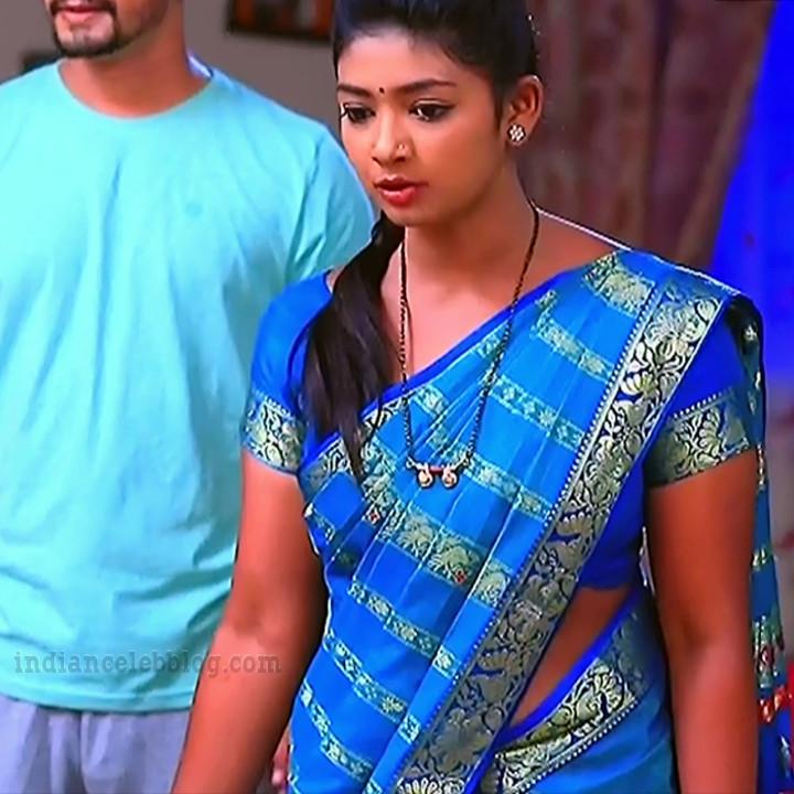 Bhoomi shetty kinnari kannada tv actress S4 2 saree photo