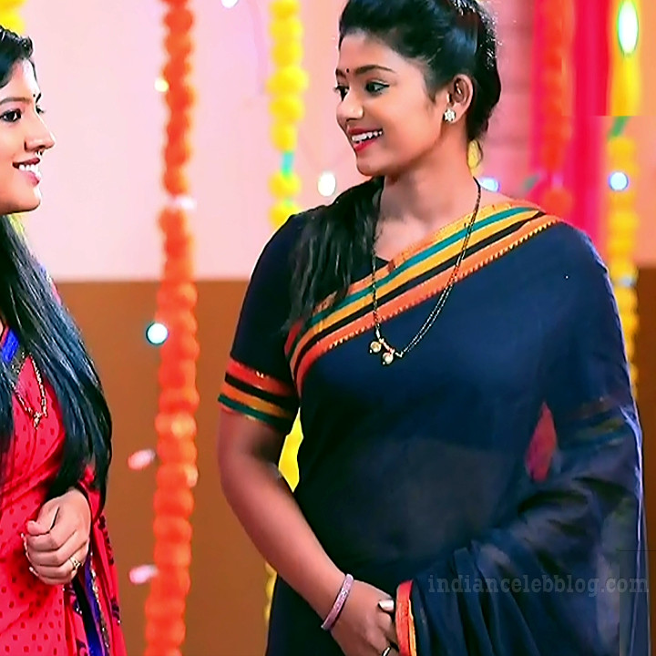 Bhoomi shetty kinnari kannada tv actress S4 7 sari photo
