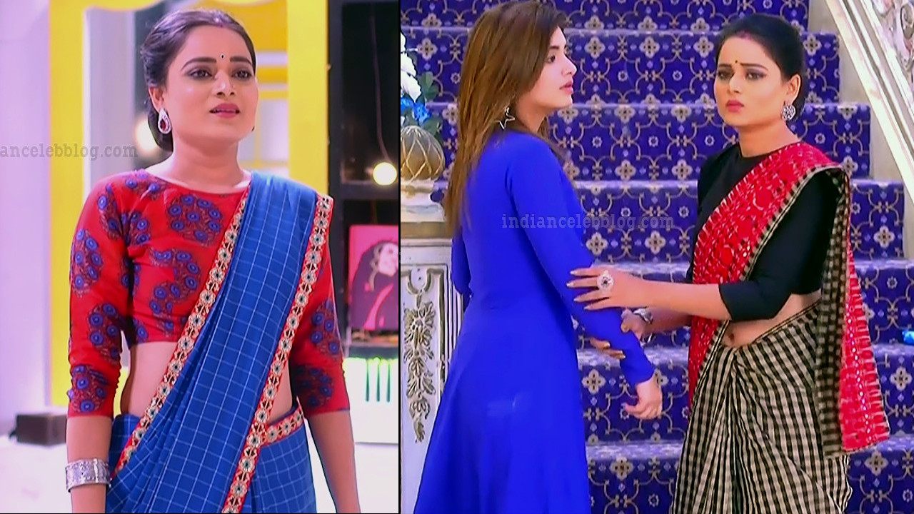 Dolphin dwivedi Tu aashiqui serial actress sari navel show