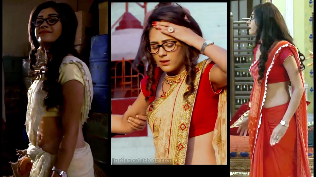 Hiba Nawab Indian television actress hot saree photos