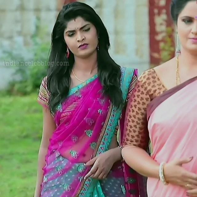 Manya anand kannada TV actress BiliHS2 10 sari navel pic