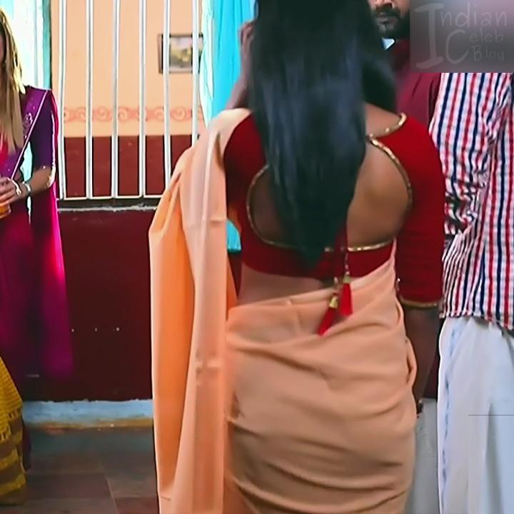 Manya anand kannada TV actress BiliHS2 5 saree pics