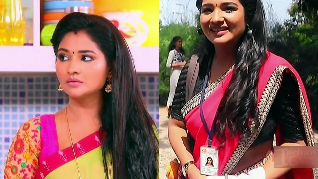 Sharanya turadi nenjam marppathillai actress S1 2 sari pics