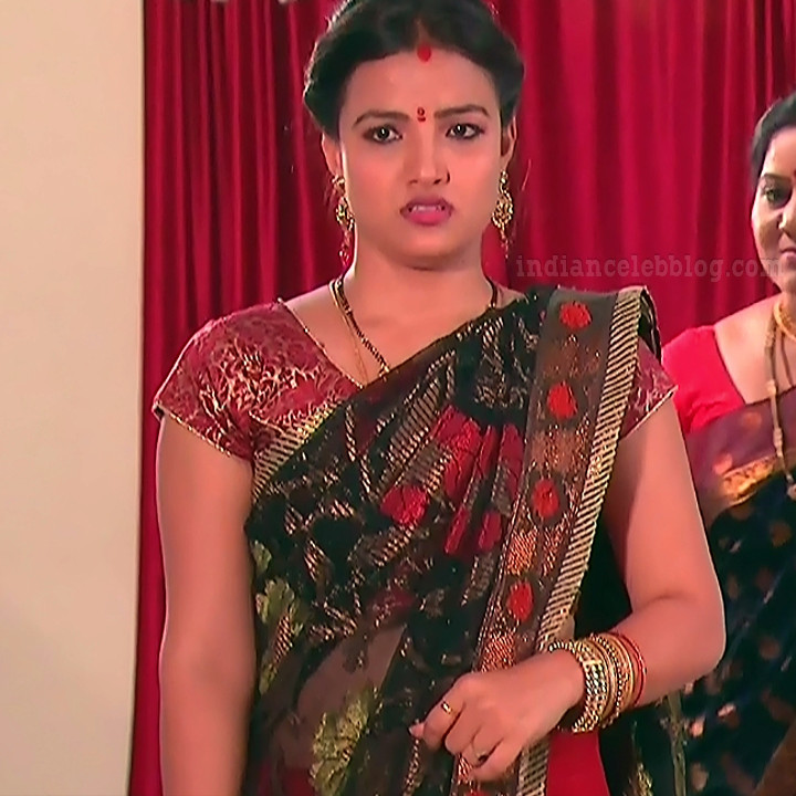 Telugu TV serial actress MscC5 2 sari pic