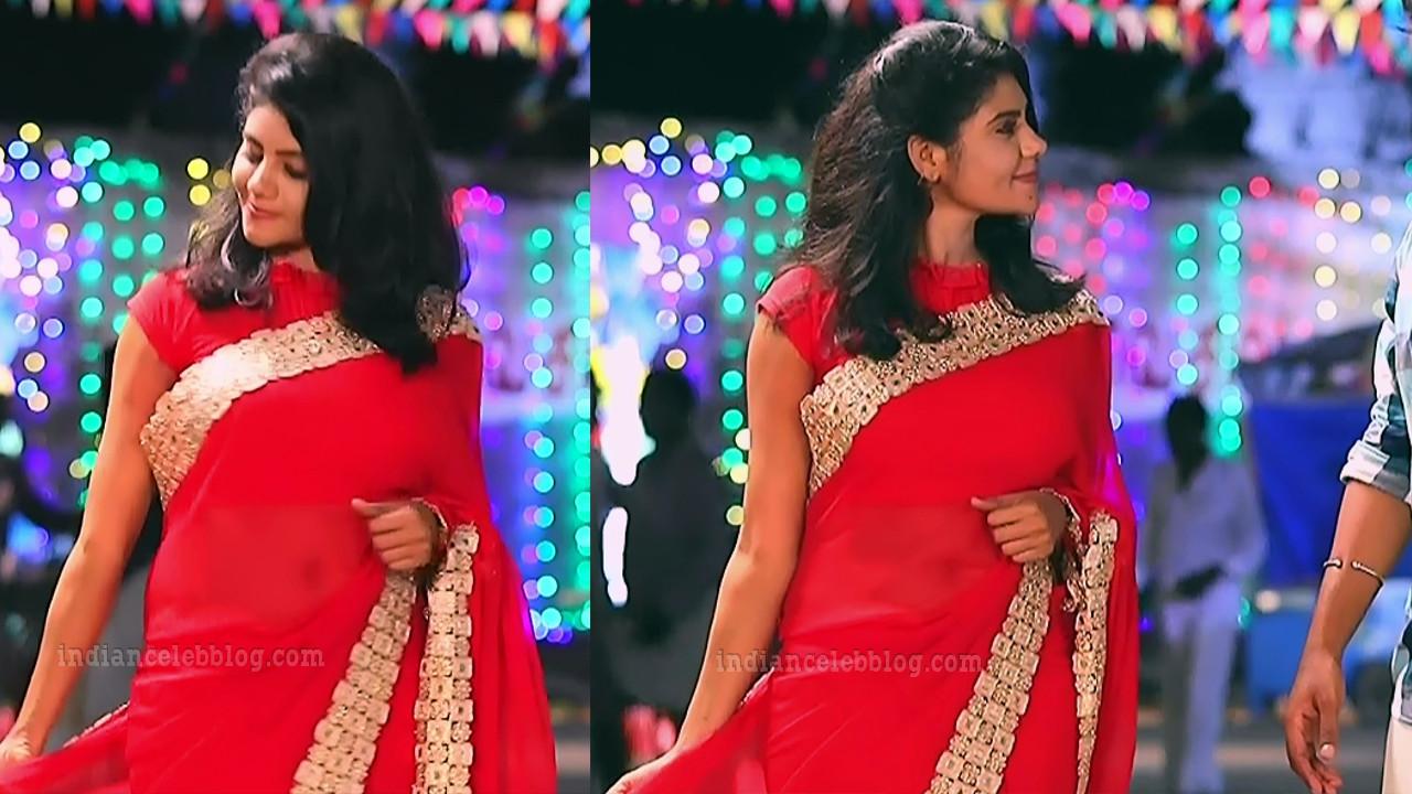 Nivisha tamil tv actress eeramana rojave s1 4 saree pics