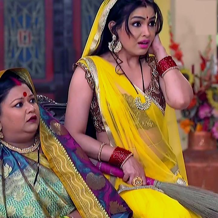 Shubhangi atre hindi tv actress Bhabhiji S4 13 saree photo
