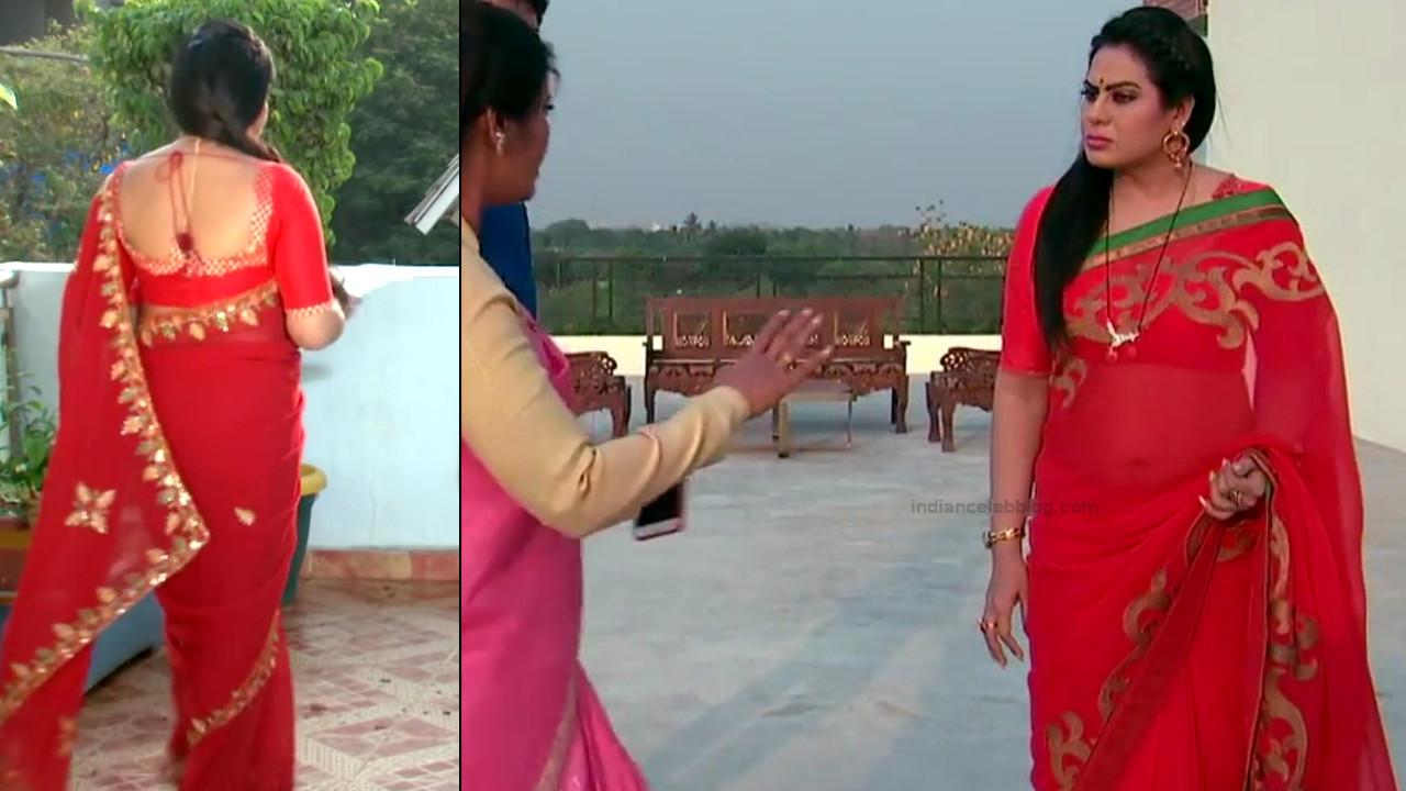 Tina naidy telugu tv actress swathi chinukulu s1 7 saree pics