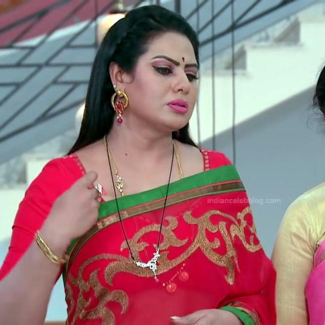 Tina naidy telugu tv actress swathi chinukulu s1 9 sari photo