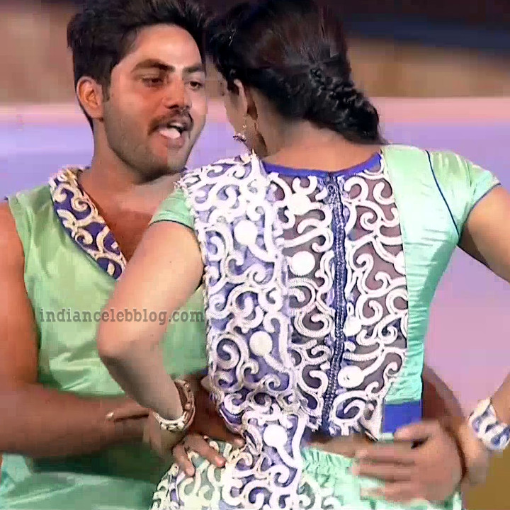 Bhavana Telugu TV anchor rangasthalam dance S1 18 hot caps