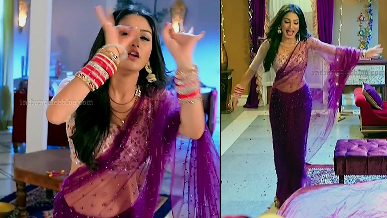 Donal bisht roop mard serial actress S2 3 saree pics