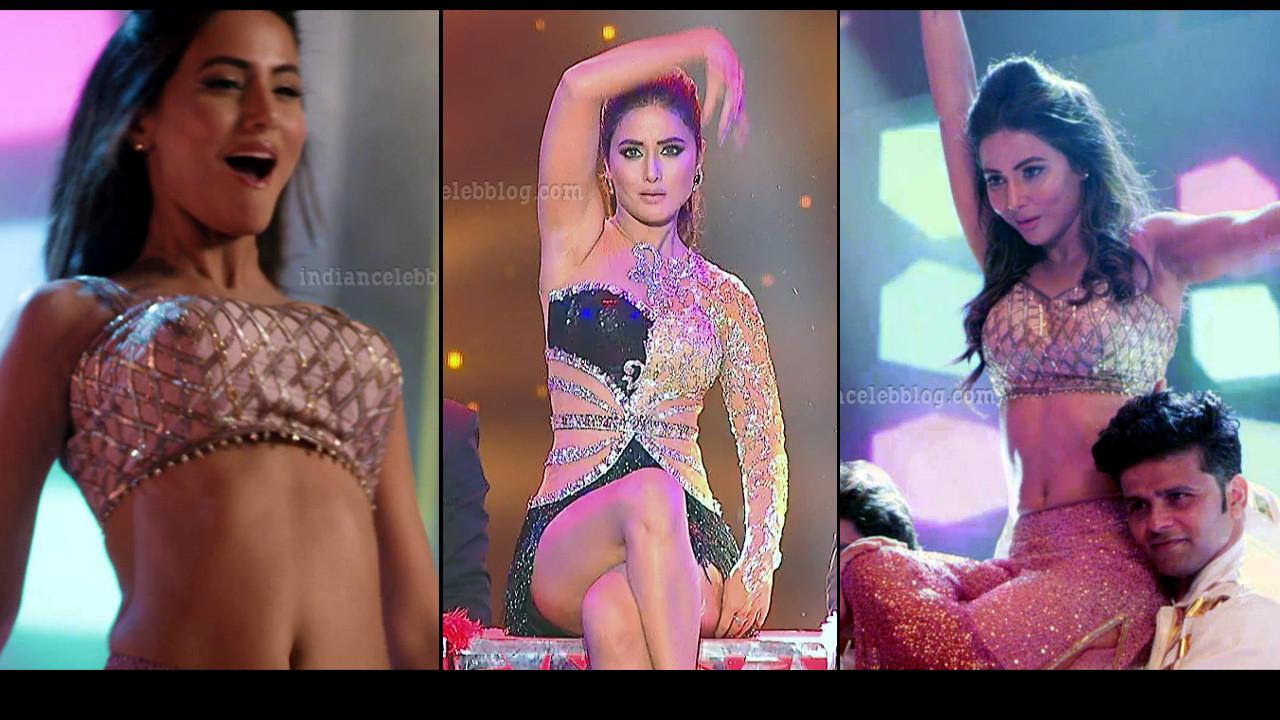 Hina Khan hot dance performance at the Star awards 2018