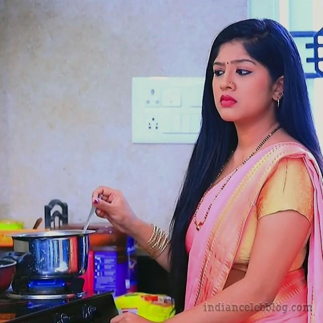 Meghana shankarappa kannada tv actress Kinnari S4 13 saree pic