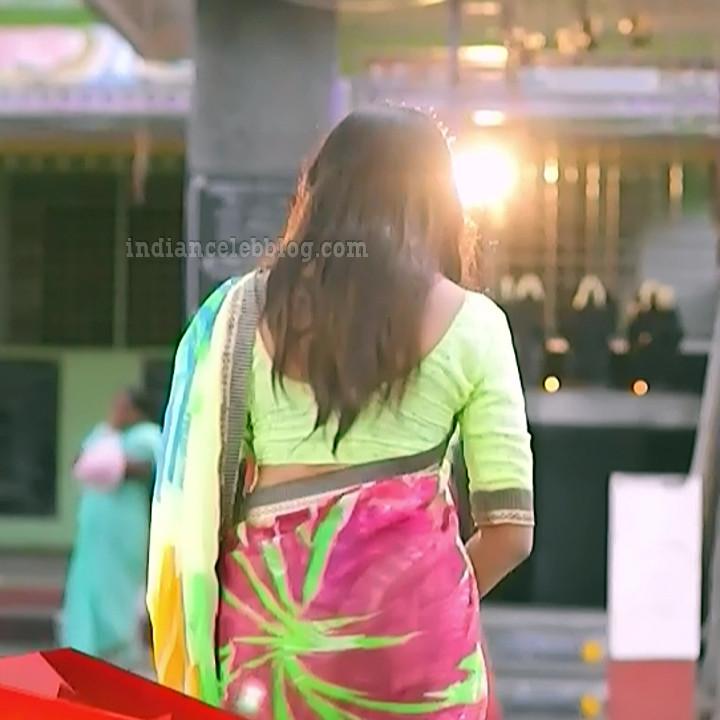 Raksha gowda Putmalli serial actress S2 13 saree photo