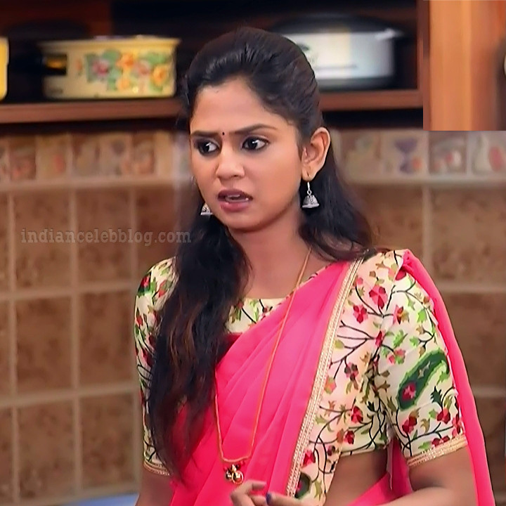 Raksha gowda Putmalli serial actress S2 4 saree photo