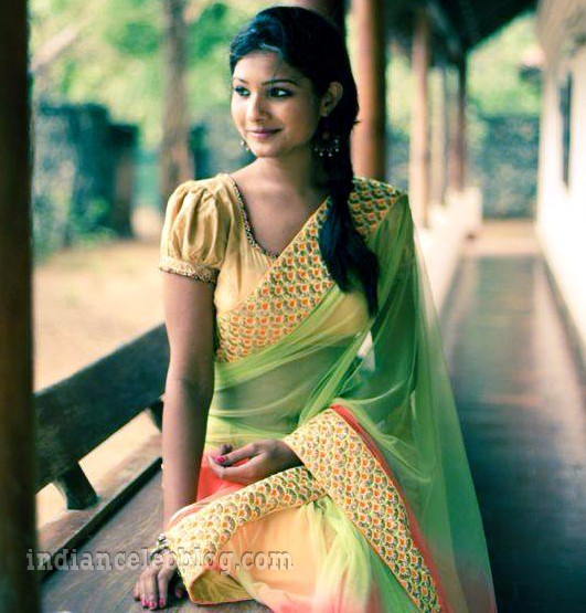 Sharanya turadi nenjam marappathillai actress CTS1 30 saree photo