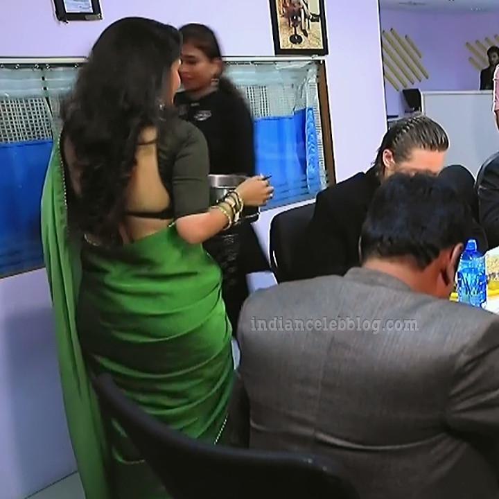 Supritha sathyanarayan kannada tv actress SeethaVS1 13 saree photo
