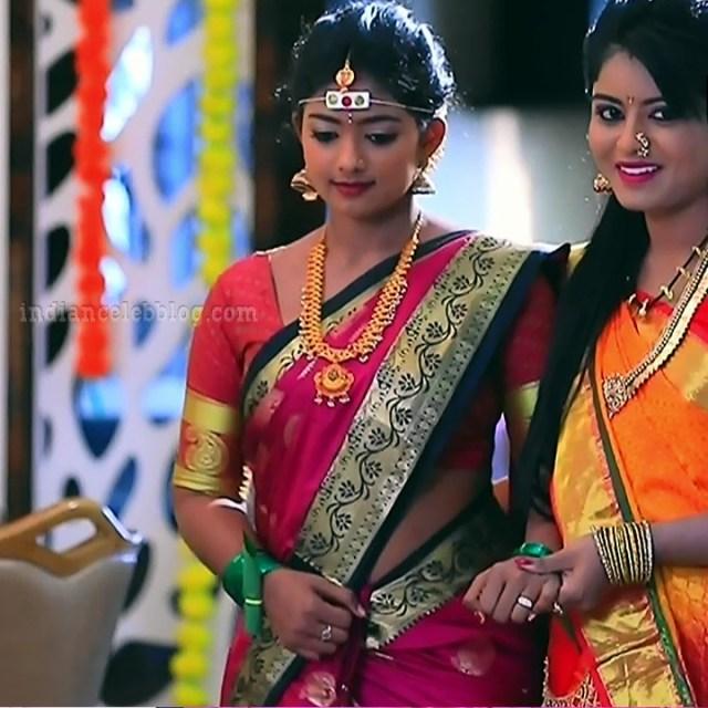 Bhoomi shetty Kinnari actress S5 3 saree pic
