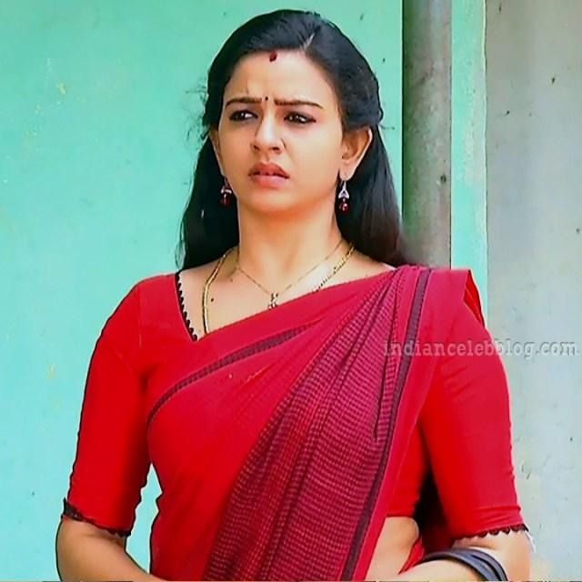 Divya ganesh tamil tv actress sumangali S6 7 saree pics