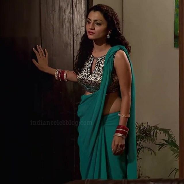 Isha sharma hindi tv actress JamaiRS1 5 saree photo