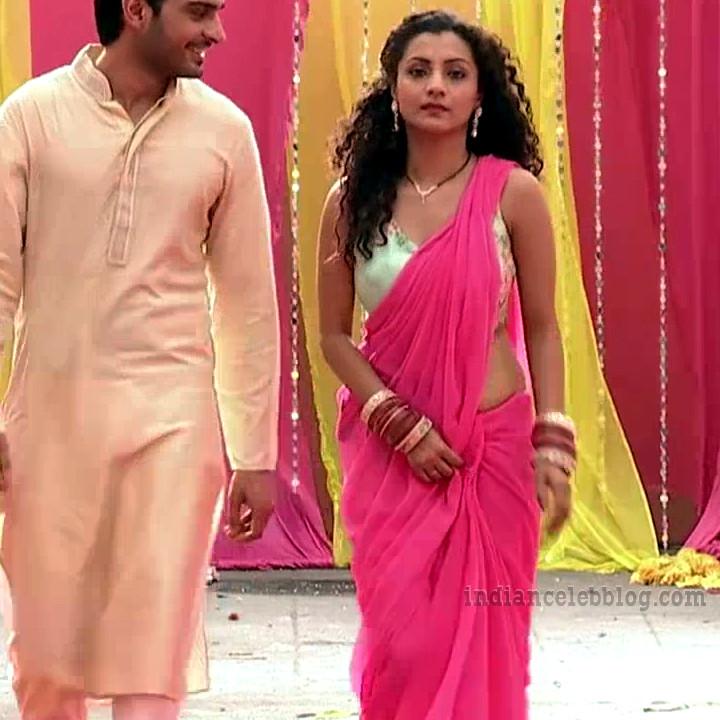 Isha sharma hindi tv actress JamaiRS1 6 saree photo
