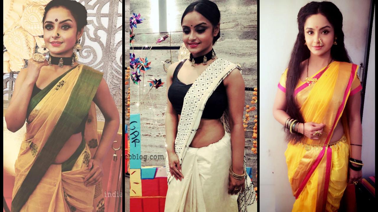 Ishita Ganguly Hot Saree photo gallery