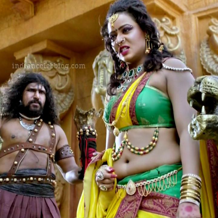 Meghana gowda tv actress swarna khadgam S1 3 hot photo