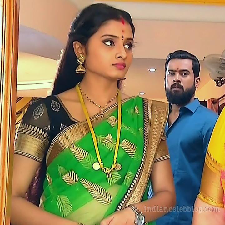 Varshini tamil tv actress sumanagal S2 2 saree photo