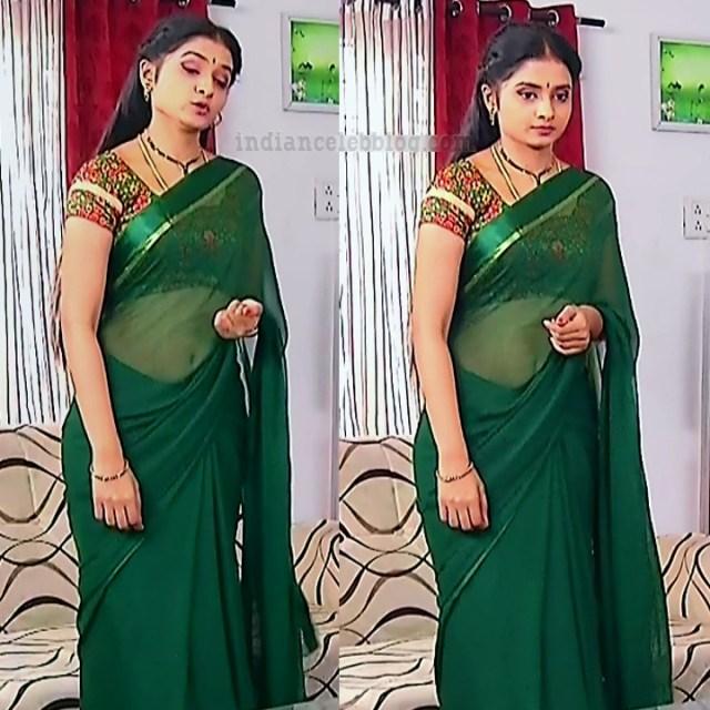 Varshini tamil tv actress sumanagal S2 6 saree pic