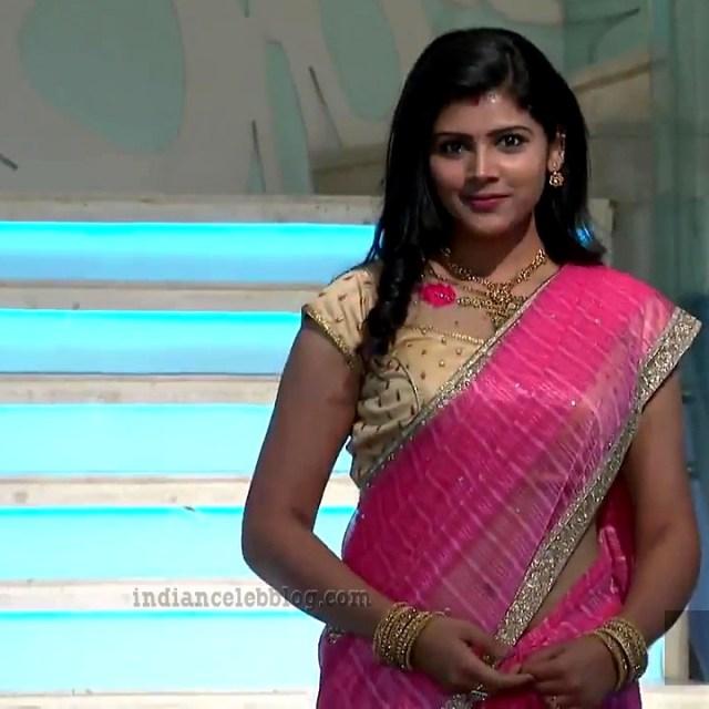 Sangeetha Kamath Telugu TV actress CTS1 8 hot saree pics