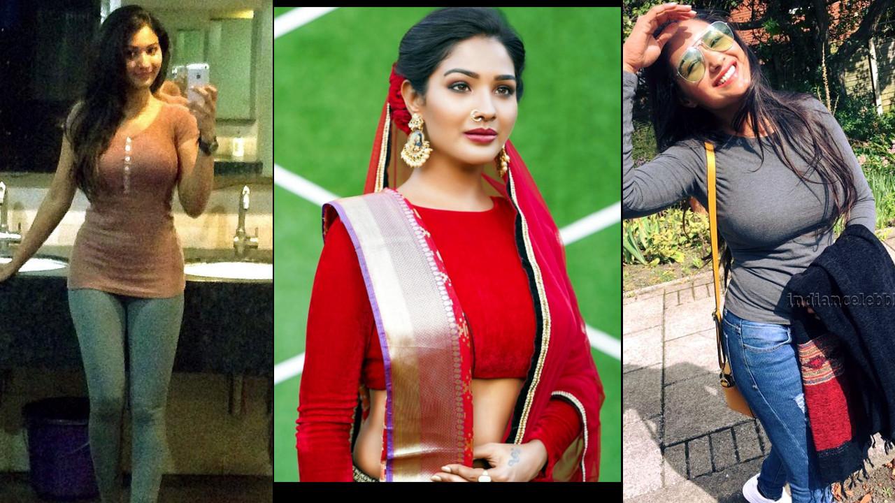 Tamil serial actress Sharanya Turadi photo gallery