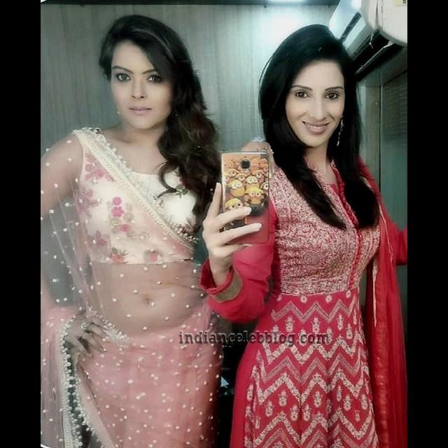 Shilpa Raizada Hindi TV actress CTS1 9 hot saree photo