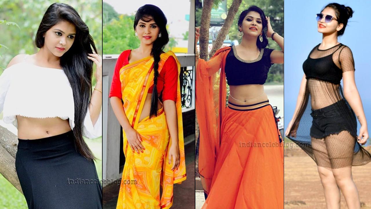 Amulya Gowda Kannada TV actress hot Pics gallery