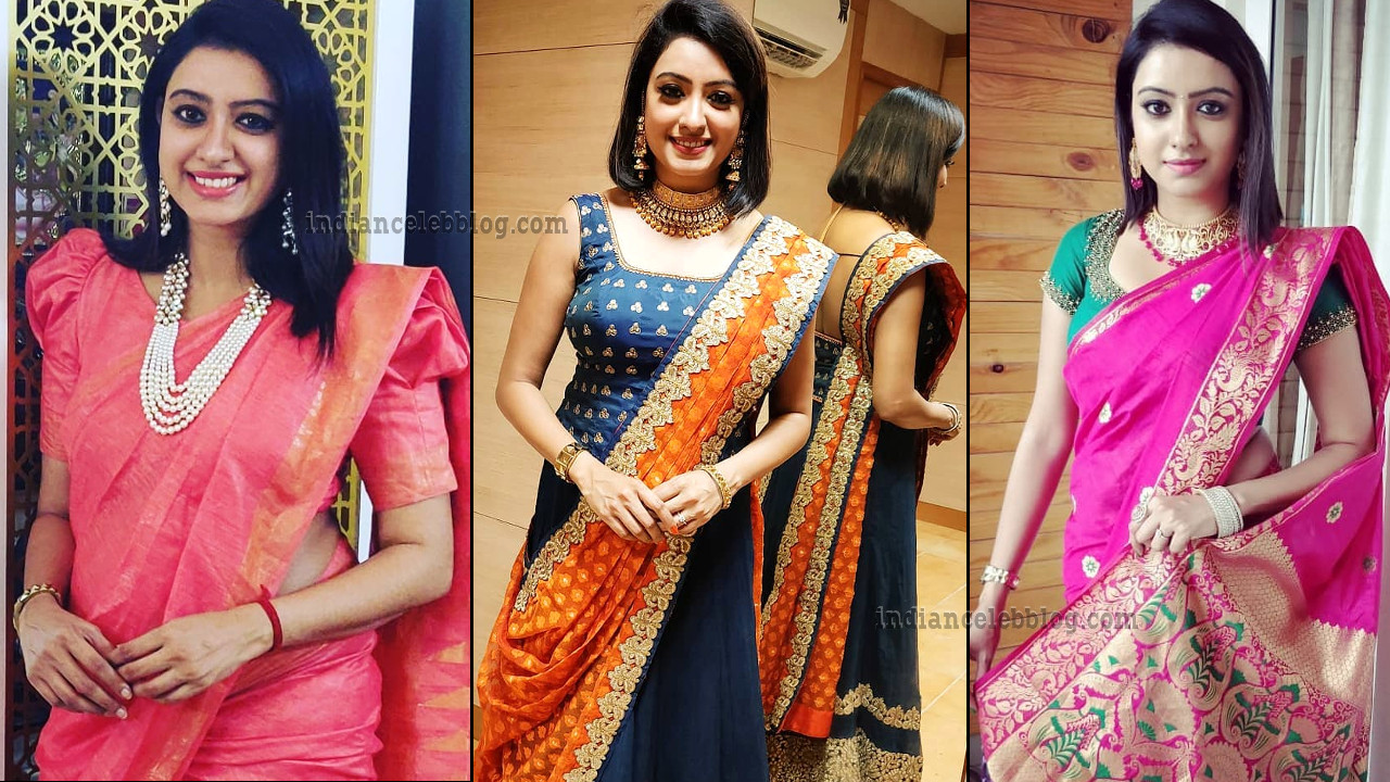 Nisha Krishnan tamil TV actress photo gallery