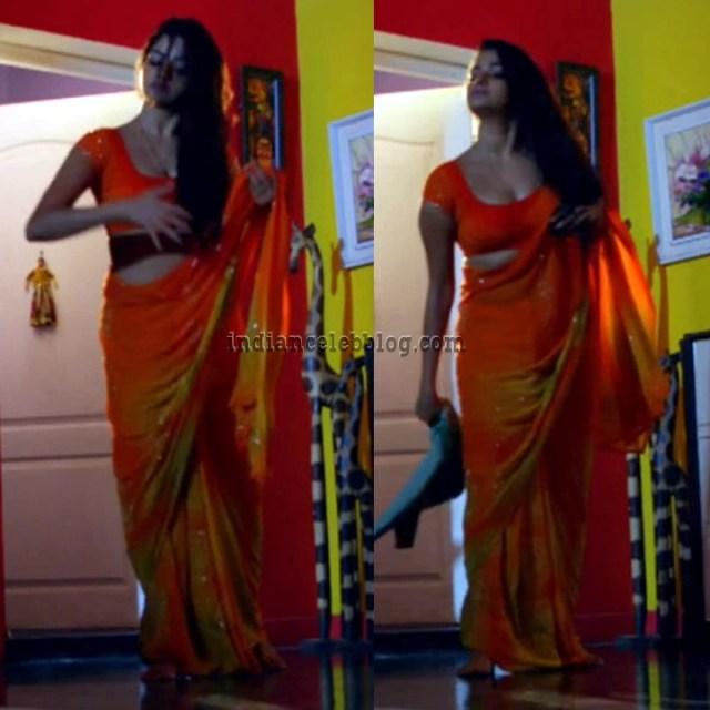 Nithya Ram Nandhini tamil serial S3 4 hot saree photo