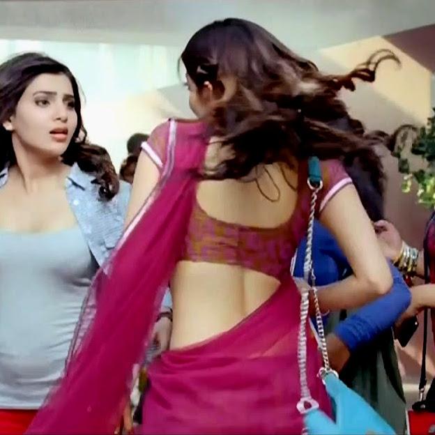 Pranitha subhash navel show from Rabhasa S1 5 hot pic