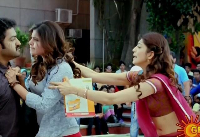 Pranitha subhash navel show from Rabhasa S1 6 hot pic