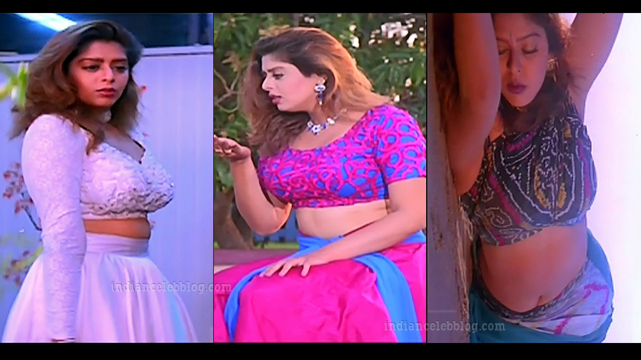 Nagma south indian actress hot caps from love birds tamil movie