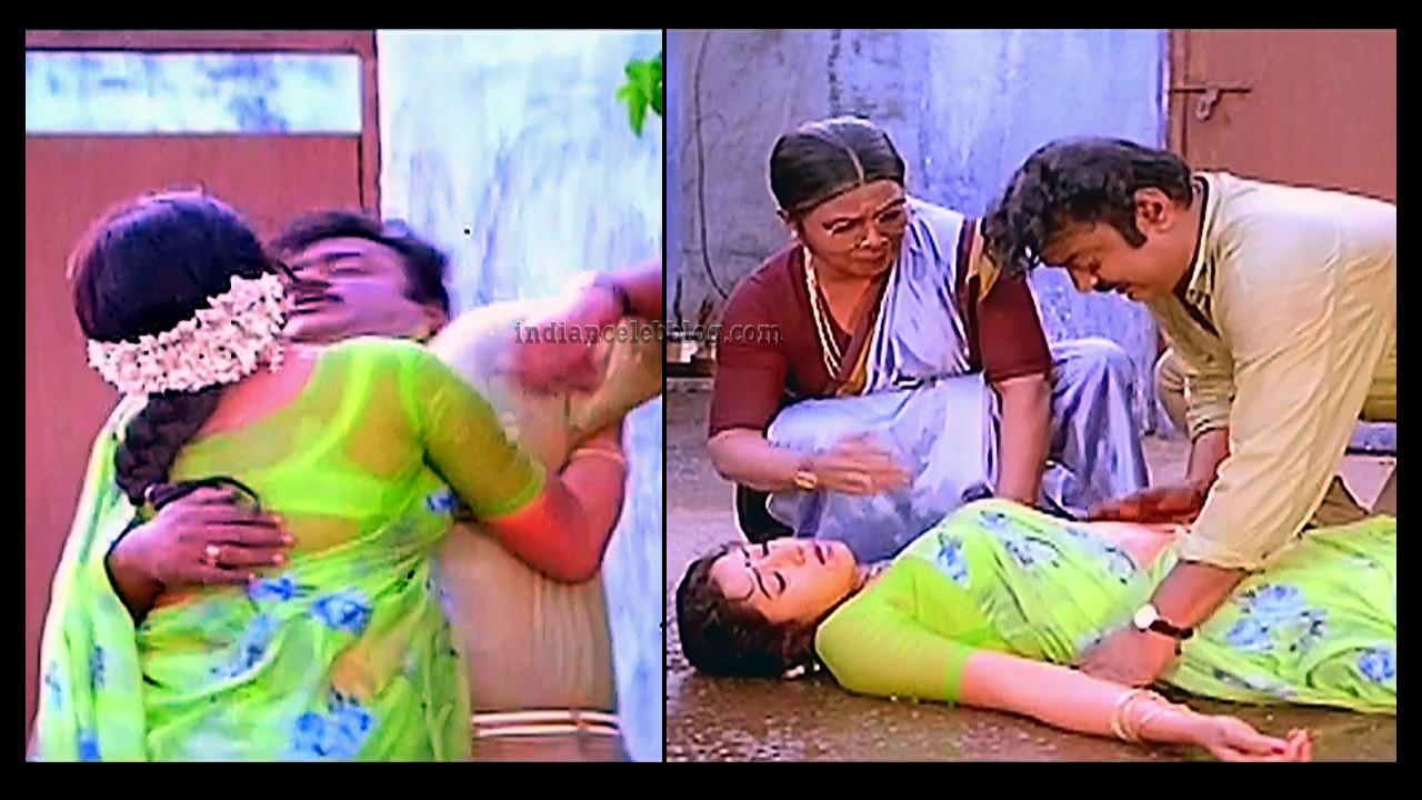 Aamani Honest raj tamil movie hot saree scene caps