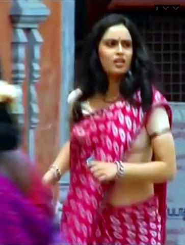 Kausalya_Tamil TV Actress-AKKA_1_Saree Navel