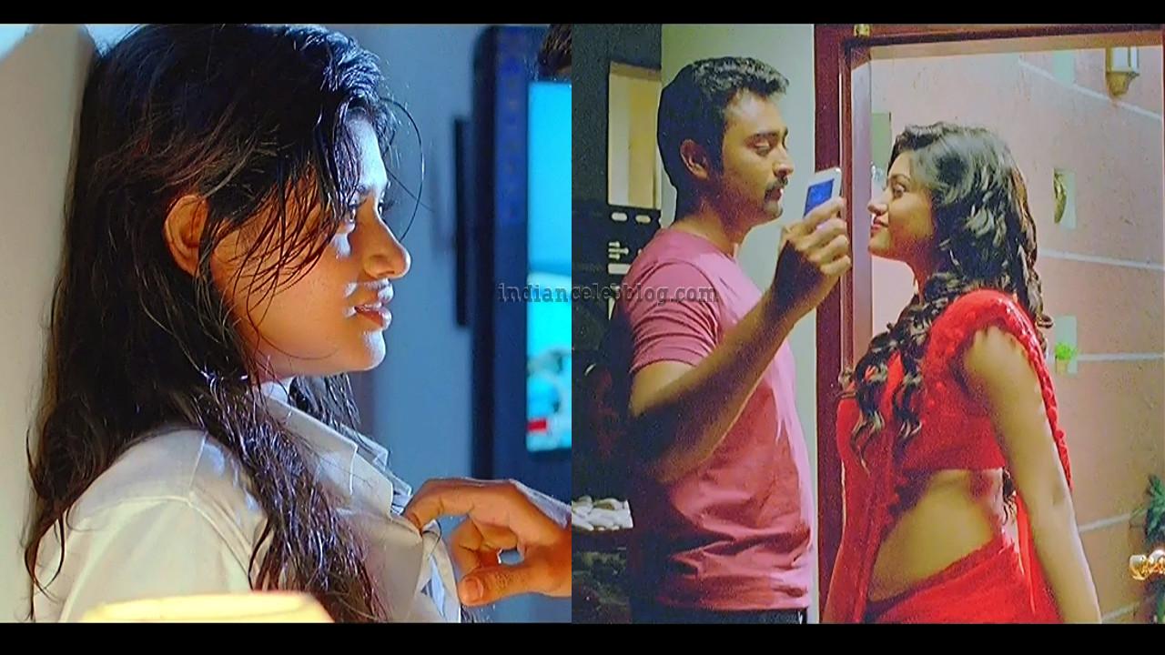 Oviya hot Caps from Pulivaal tamil movie.