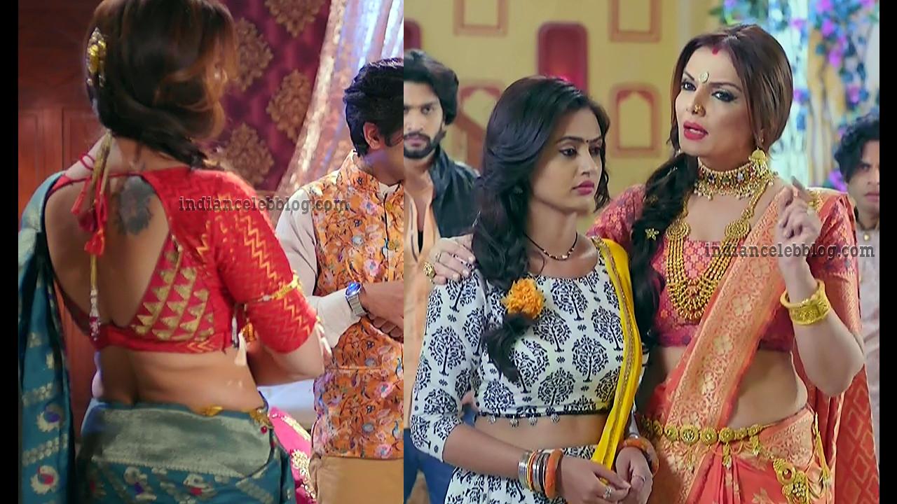 Deepshikha Nagpal hindi serial actress hot saree pics