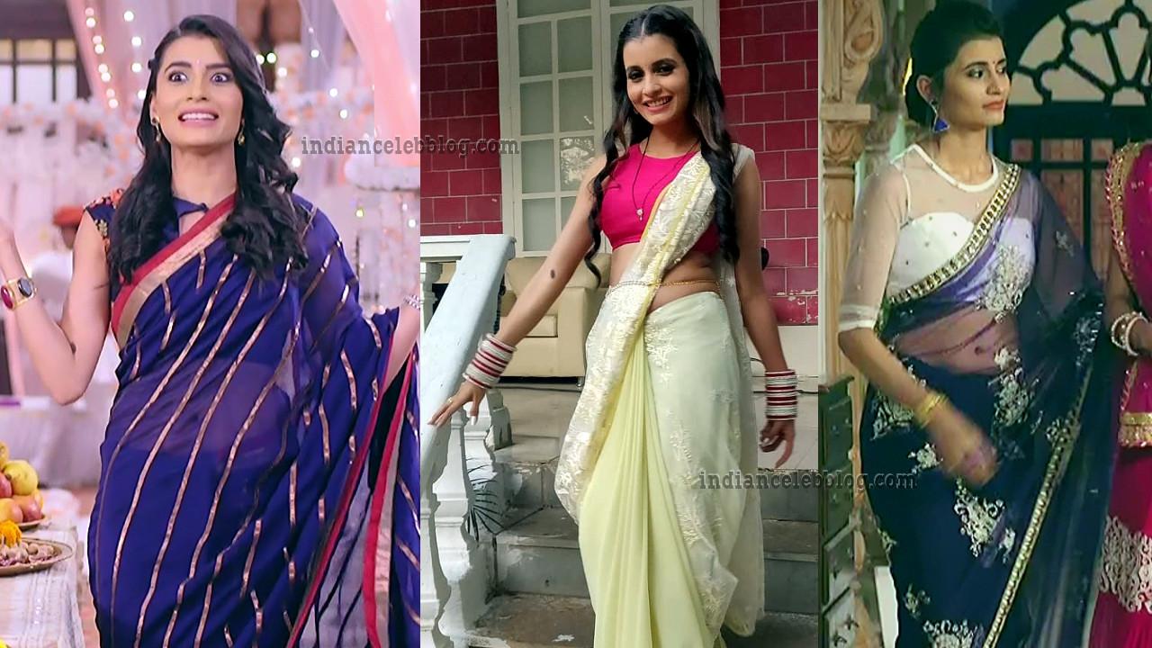 Meenu panchal hindi serial actress hot saree pics