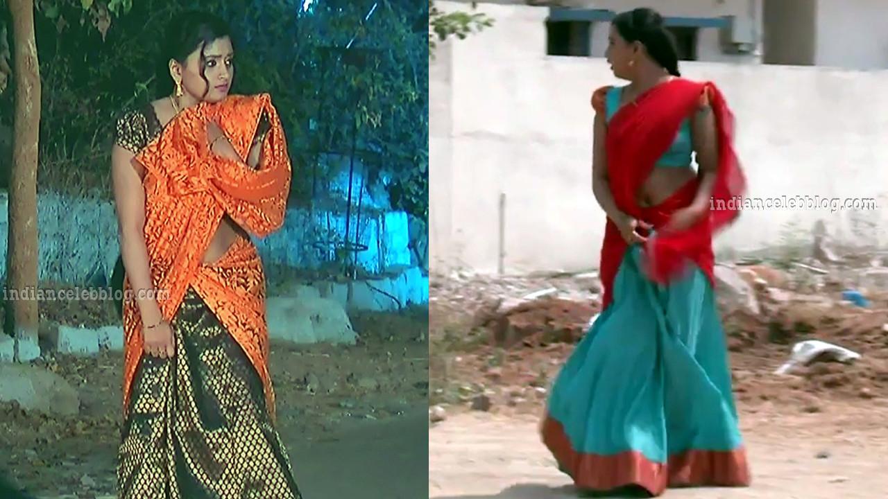 Princy b krishnan telugu serial actress sari caps