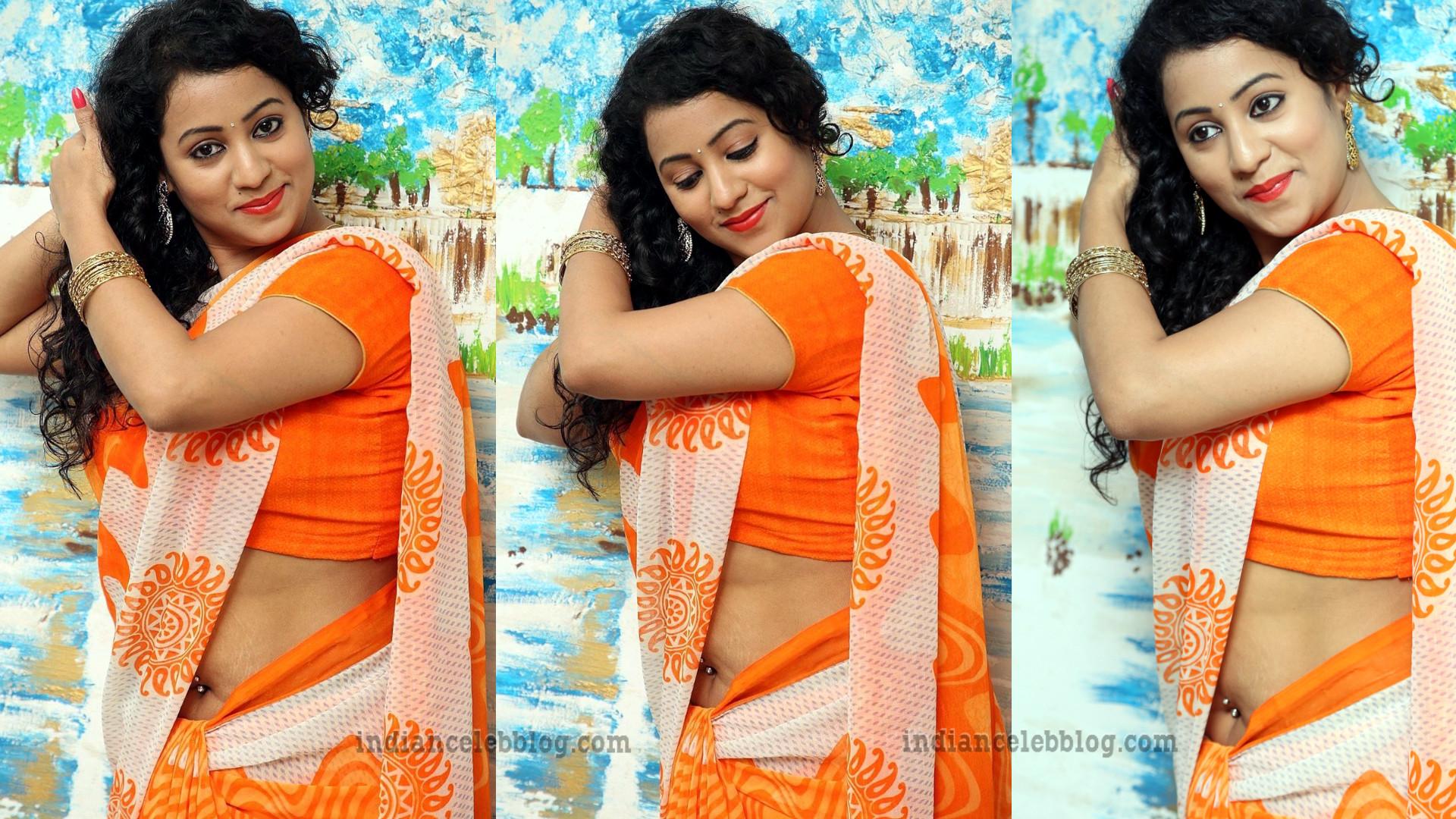 Deepu Naidu South Indian Actress Hot Saree Photoshoot S1 1 Hot Pics Indiancelebblog Com