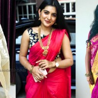 Nivetha thomas hot saree photos