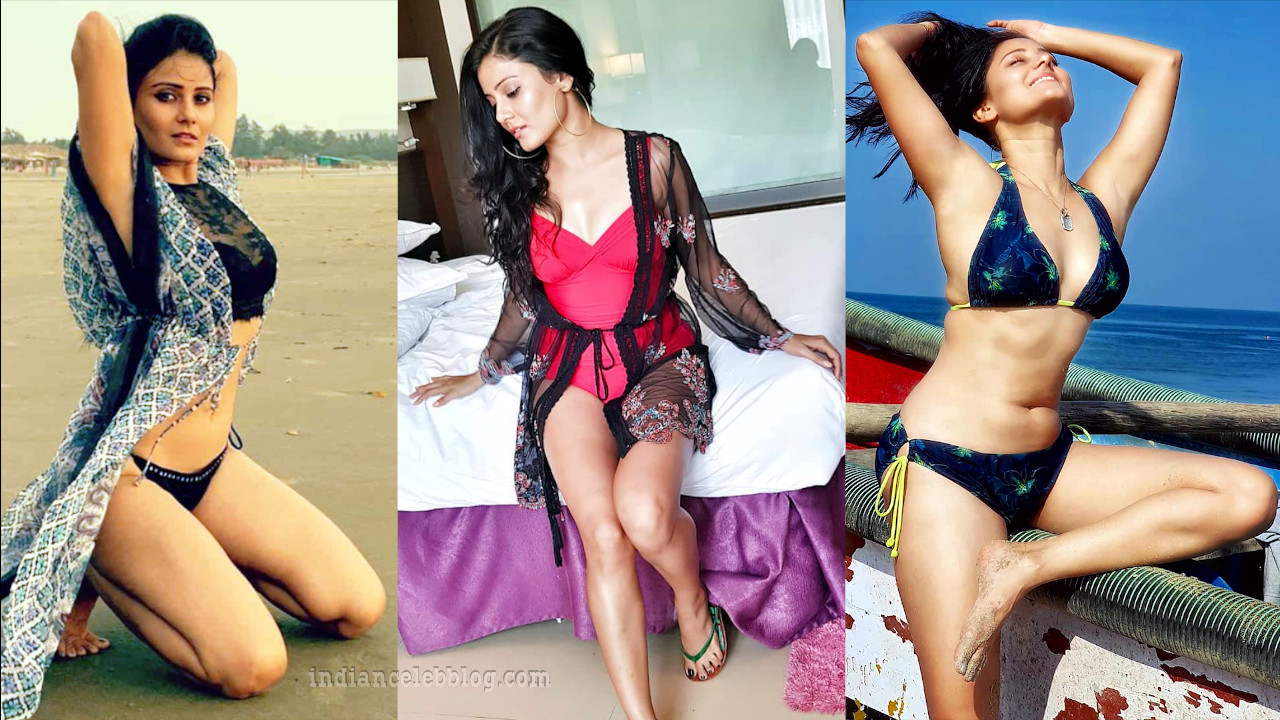 Archana gupta sexy bikini beach photos