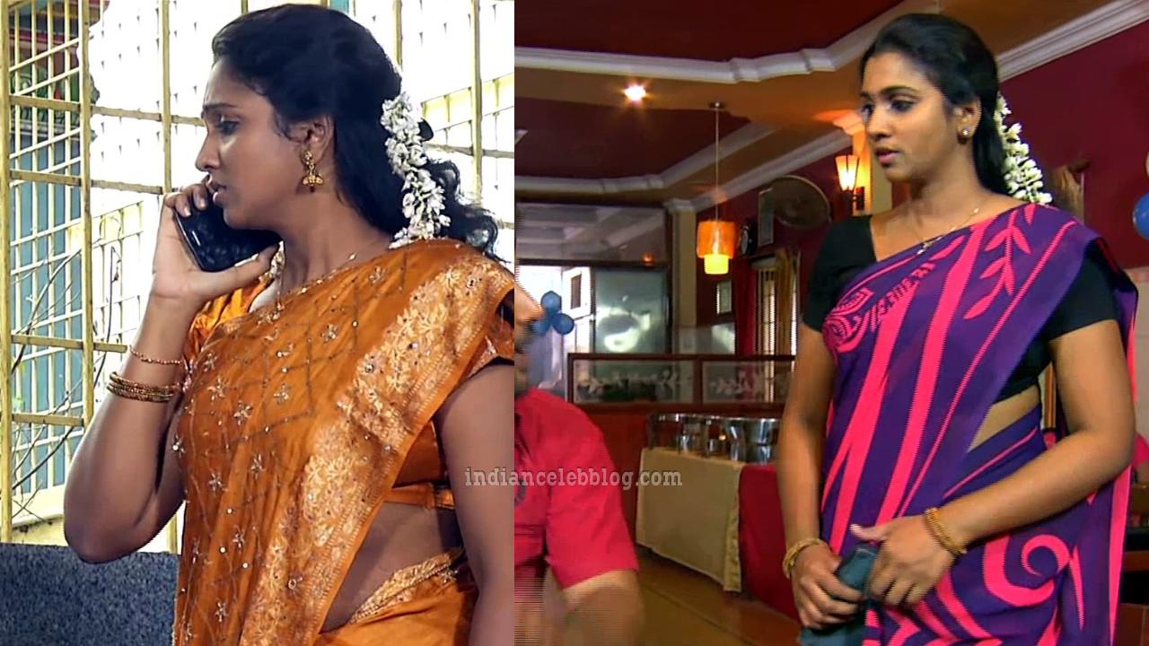 Dhesikha tamil tv serial actress saree caps