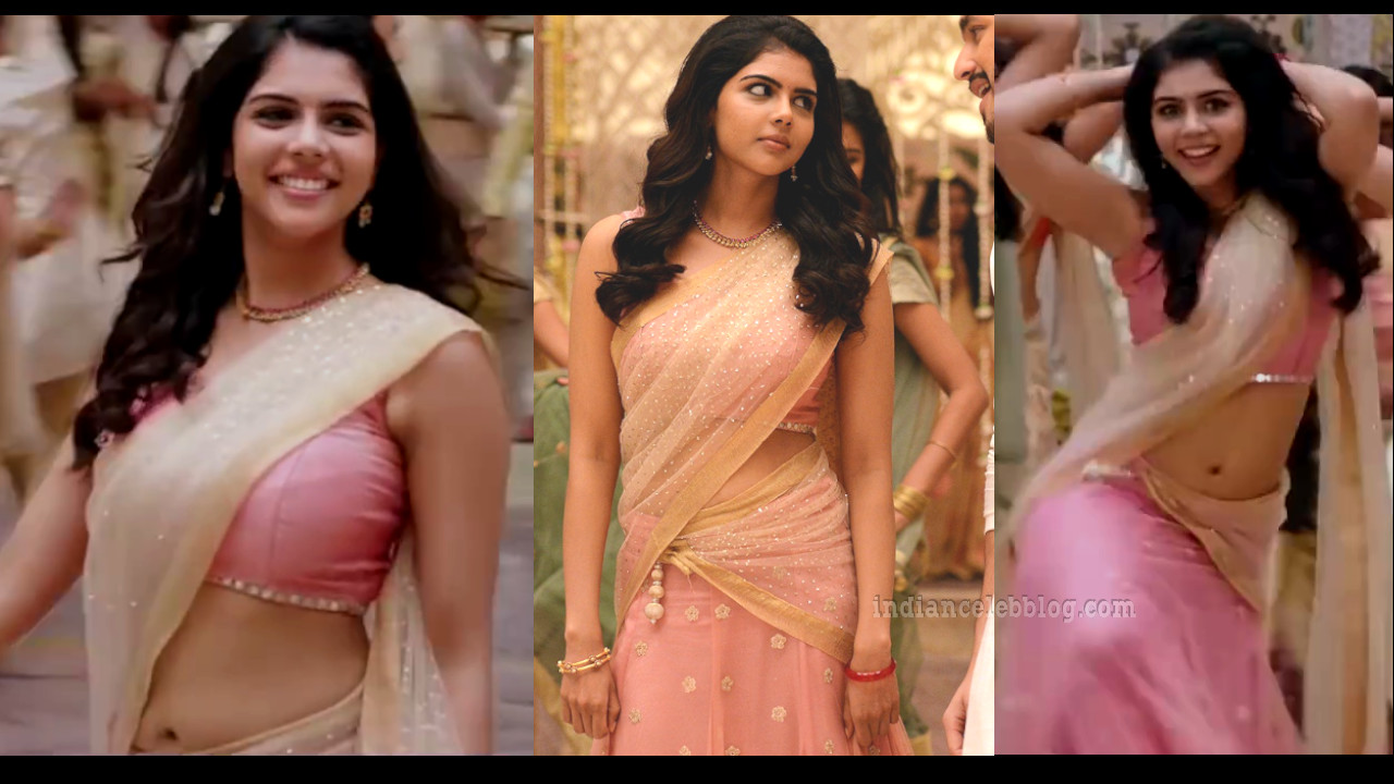 Kalyani priyadarshan malayalam actress half saree song hd caps